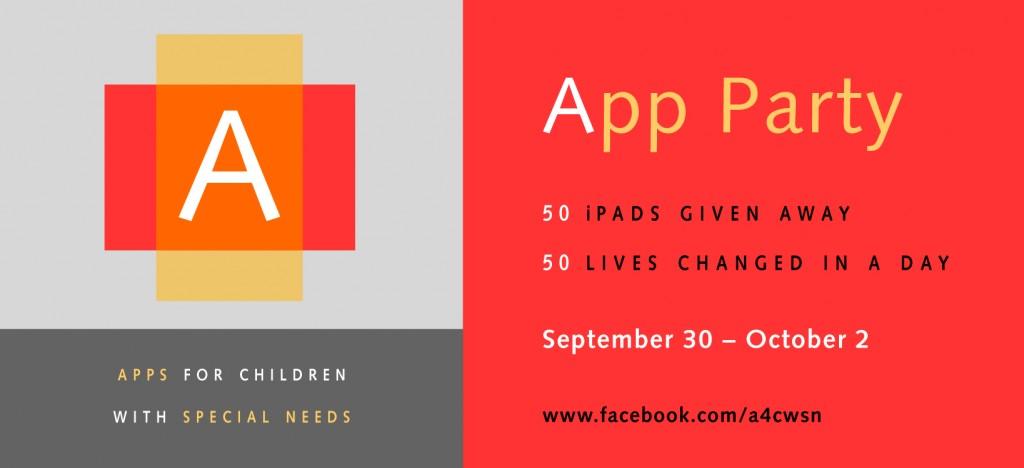 A4CWSN - 3rd app party