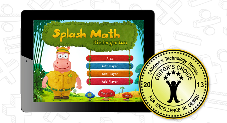 Splash Math Kindergarten Children's Tech Award
