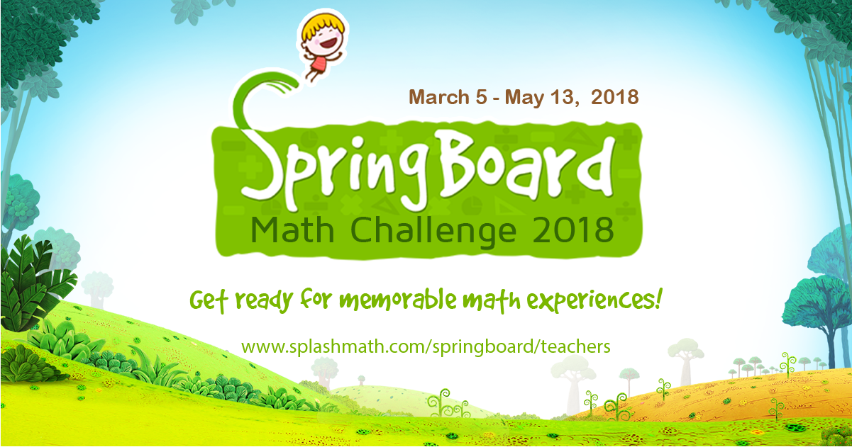 SpringBoard, Splash Math, Math fun