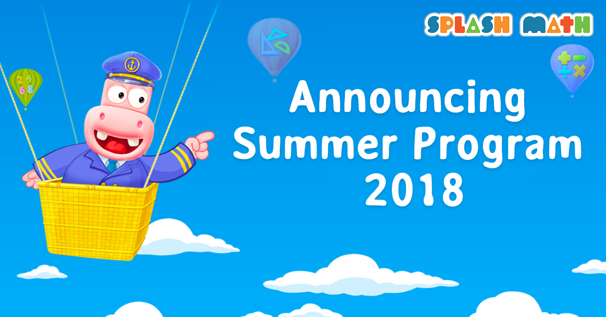 Splash Math Summer Program 2018