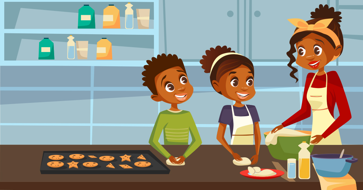 Cooking offers ample opportunities to hone your child's math skills