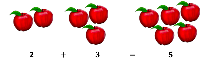 2+3 = 5
