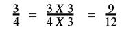 Making denominators the same
