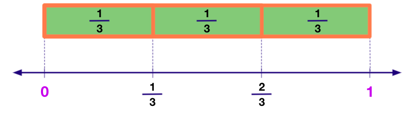 Linear Model of Representing Fractions